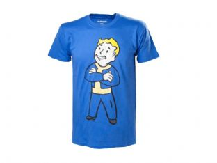 Fallout Vault Boy Folded Arms T-Shirt